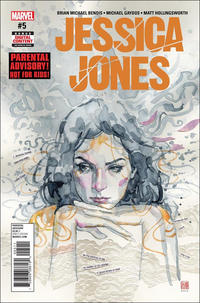 Cover Thumbnail for Jessica Jones (Marvel, 2016 series) #5 [David Mack]