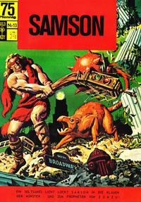 Cover Thumbnail for Samson (Breling Verlag, 1996 series) #13