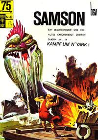 Cover Thumbnail for Samson (Breling Verlag, 1996 series) #12