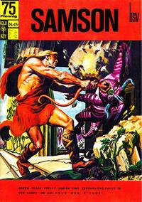 Cover Thumbnail for Samson (Breling Verlag, 1996 series) #15