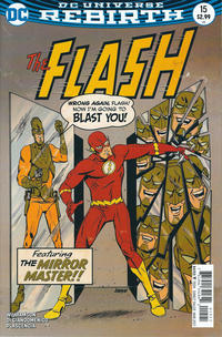 Cover Thumbnail for The Flash (DC, 2016 series) #15 [Dave Johnson Variant Cover]