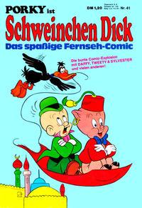 Cover Thumbnail for Schweinchen Dick (Willms Verlag, 1972 series) #41