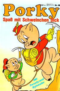 Cover Thumbnail for Schweinchen Dick (Willms Verlag, 1972 series) #8