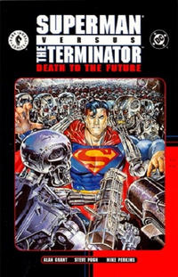 Cover Thumbnail for Superman versus the Terminator: Death to the Future (DC; Dark Horse, 2000 series)