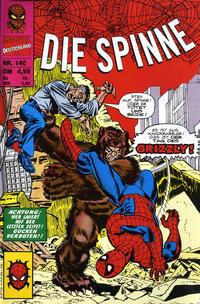 Cover Thumbnail for Die Spinne - Das fehlende Jahr (Panini Deutschland, 1998 series) #140