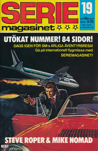 Cover for Seriemagasinet (Semic, 1970 series) #19/1979