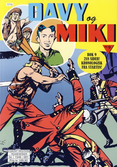 Cover for Davy og Miki (Hjemmet / Egmont, 2014 series) #9