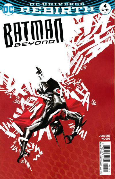 Cover for Batman Beyond (DC, 2016 series) #4 [Bernard Chang Cover]