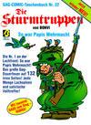 Cover for Die Sturmtruppen (Condor, 1981 series) #22