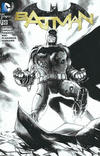 Cover Thumbnail for Batman (2011 series) #50 [Fried Pie Black and White Connecting Cover]