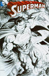 Cover for Superman (DC, 2011 series) #50 [Hastings Exclusive Tyler Kirkham Black and White Connecting Variant]