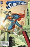 Cover for Superman (DC, 2011 series) #50 [Incentive Dave Johnson Connecting Variant]
