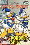 Cover for Donald Pocket (Hjemmet / Egmont, 1968 series) #299 - Dobbeltspill [1. opplag]