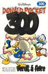 Cover for Donald Pocket (Hjemmet / Egmont, 1968 series) #300 - Verdt å feire [Reutsendelse bc 277 82]