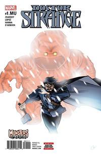 Cover Thumbnail for Doctor Strange (Marvel, 2015 series) #1.MU