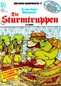 Cover Thumbnail for Die Sturmtruppen (Condor, 1978 series) #17