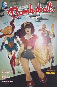 Cover Thumbnail for DC Comics: Bombshells (DC, 2016 series) #2 - Allies