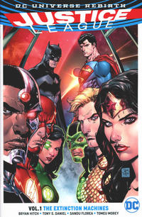Cover Thumbnail for Justice League (DC, 2017 series) #1 - The Extinction Machines
