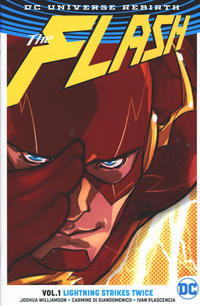 Cover Thumbnail for The Flash (DC, 2017 series) #1 - Lightning Strikes Twice