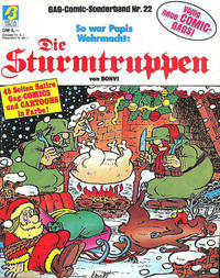 Cover Thumbnail for Die Sturmtruppen (Condor, 1978 series) #22