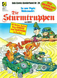Cover Thumbnail for Die Sturmtruppen (Condor, 1978 series) #28