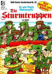 Cover Thumbnail for Die Sturmtruppen (Condor, 1978 series) #32