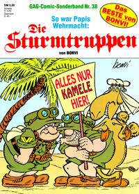 Cover Thumbnail for Die Sturmtruppen (Condor, 1978 series) #38