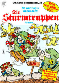 Cover Thumbnail for Die Sturmtruppen (Condor, 1978 series) #39