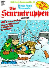 Cover Thumbnail for Die Sturmtruppen (Condor, 1978 series) #41