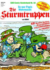 Cover Thumbnail for Die Sturmtruppen (Condor, 1978 series) #54