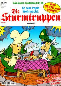 Cover Thumbnail for Die Sturmtruppen (Condor, 1978 series) #55