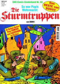 Cover Thumbnail for Die Sturmtruppen (Condor, 1978 series) #63