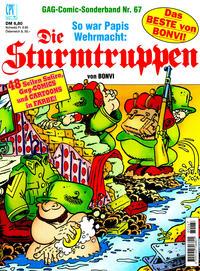Cover Thumbnail for Die Sturmtruppen (Condor, 1978 series) #67