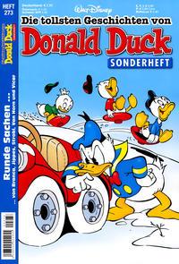 Cover Thumbnail for Die tollsten Geschichten von Donald Duck (Egmont Ehapa, 1965 series) #273