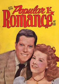 Cover Thumbnail for Popular Romance (H. John Edwards, 1950 ? series) #110