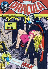 Cover Thumbnail for Dracula (Atlantic Forlag, 1982 series) #1/1982