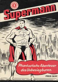 Cover Thumbnail for Supermann (Nostalgie-Comic-Verlag, 1986 series) #1