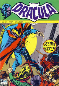 Cover Thumbnail for Dracula (Atlantic Forlag, 1982 series) #10/1982