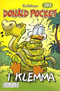 Cover Thumbnail for Donald Pocket (Hjemmet / Egmont, 1968 series) #293 - I klemma [Reutsendelse bc 277 82]