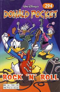 Cover Thumbnail for Donald Pocket (Hjemmet / Egmont, 1968 series) #294 - Rock 'n' Roll [1. opplag]