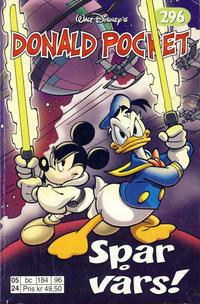 Cover Thumbnail for Donald Pocket (Hjemmet / Egmont, 1968 series) #296 - Spar vårs! [1. opplag]