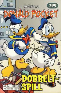 Cover Thumbnail for Donald Pocket (Hjemmet / Egmont, 1968 series) #299 - Dobbeltspill [1. opplag]