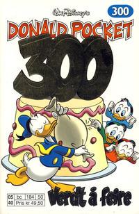 Cover Thumbnail for Donald Pocket (Hjemmet / Egmont, 1968 series) #300 - Verdt å feire [1. opplag]