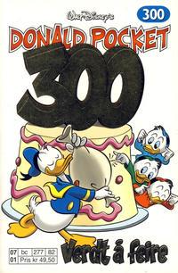 Cover Thumbnail for Donald Pocket (Hjemmet / Egmont, 1968 series) #300 - Verdt å feire [Reutsendelse bc 277 82]