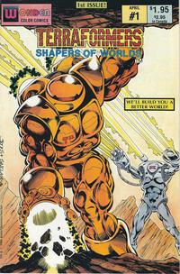 Cover Thumbnail for Terraformers (Wonder Color, 1987 series) #1