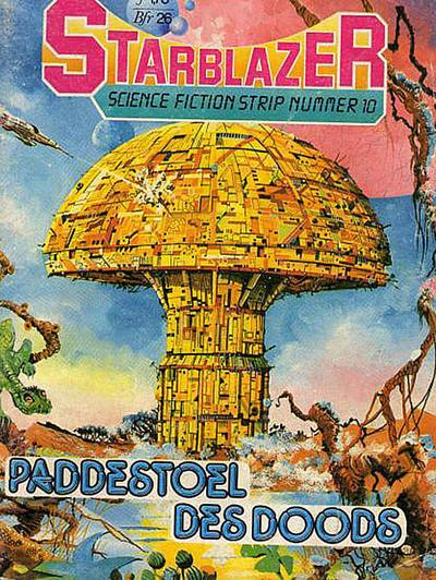 Cover for Starblazer (Heisterkamp, 1983 series) #10