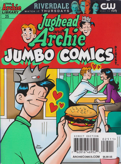 Cover for Jughead and Archie Double Digest (Archie, 2014 series) #25