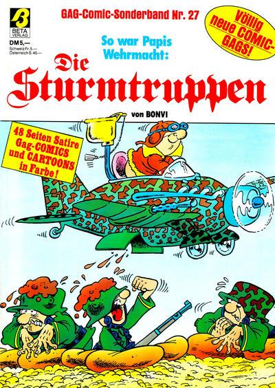 Cover for Die Sturmtruppen (Condor, 1978 series) #27