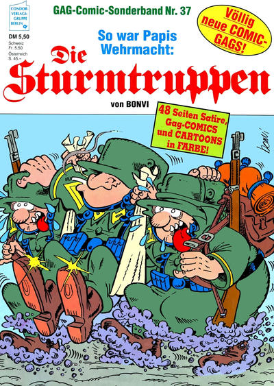 Cover for Die Sturmtruppen (Condor, 1978 series) #37