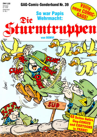 Cover for Die Sturmtruppen (Condor, 1978 series) #39
